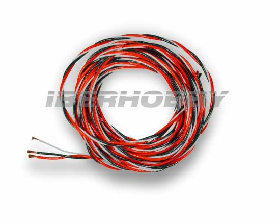 SERVO WIRE PTE 0.50 mm² 5 mts.
