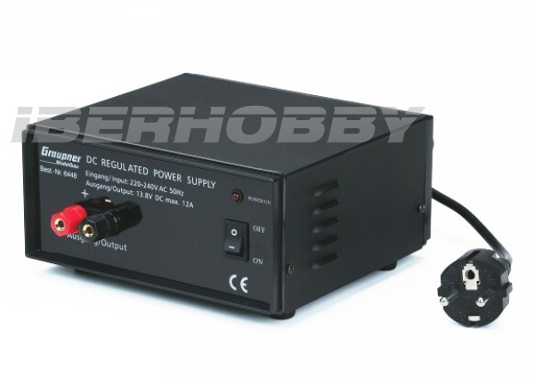 POWER SUPPLY 12 A.