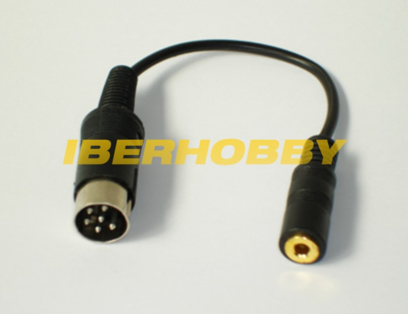 ROUND ADAPTOR CABLE FUTABA