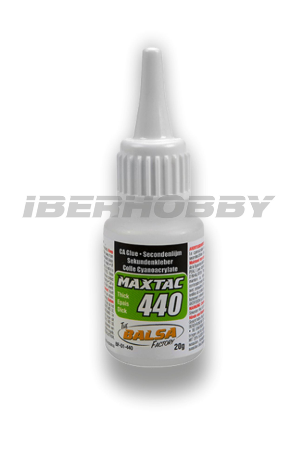 CA THICK MAX-TAC 440 SETTING GLUE 20 grs.