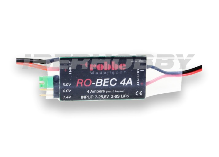VOLTAGE REGULATOR ROBEC 4 Ah.