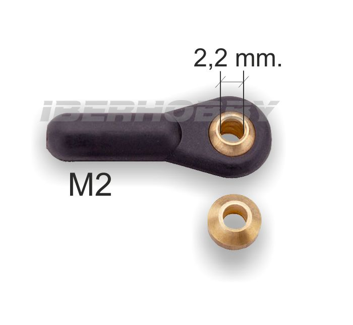 BALL JOINT M2 2mm.