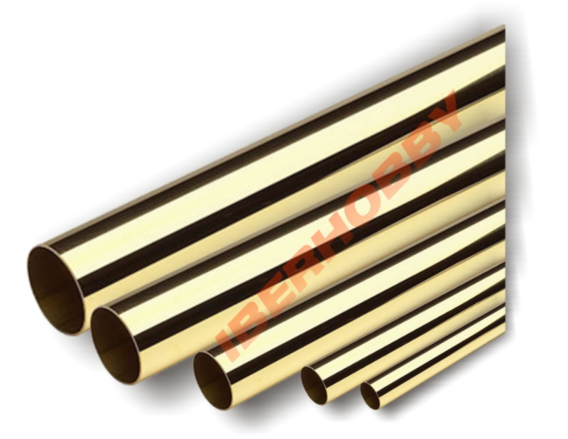 BRASS TUBE 6X5.2X1,000 mm.