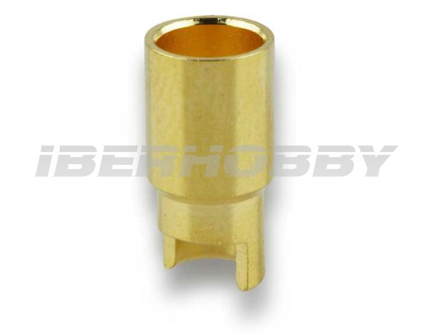 CONECTOR HEMBRA 6 mm.